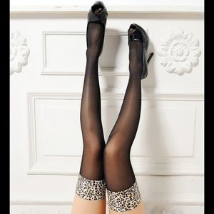 ❤️NEW Sexy Leopard Stockings #S4112